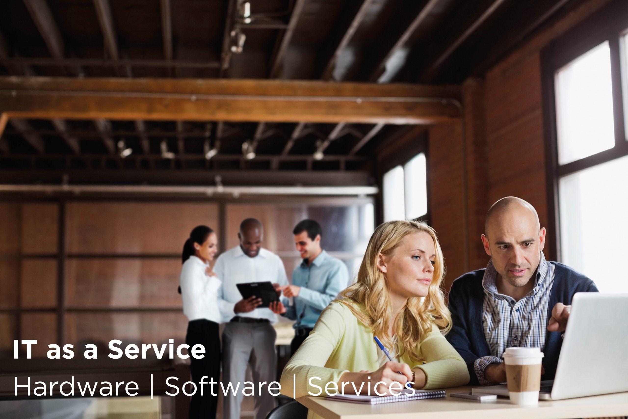 IT as a Service Konzept. Lassen Sie sich beraten!