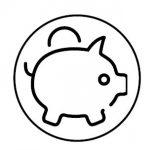 Sparschwein Icon